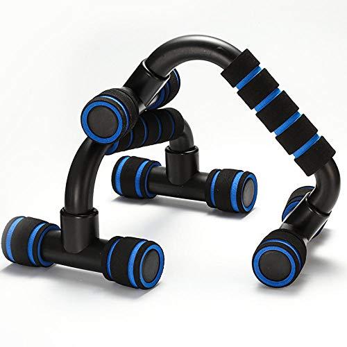 ASADVE Fitness Liegestütze Liegestütze Bar Sport Fitness Training Training Brust Bar Schwamm Handgriff Trainingsgerät-Blau_China