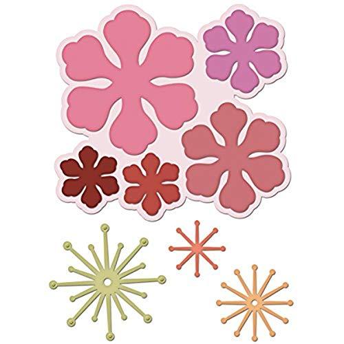 "Heartfelt Creations Arianna Blooms 1"" to 4.25"" Emboss Dies"