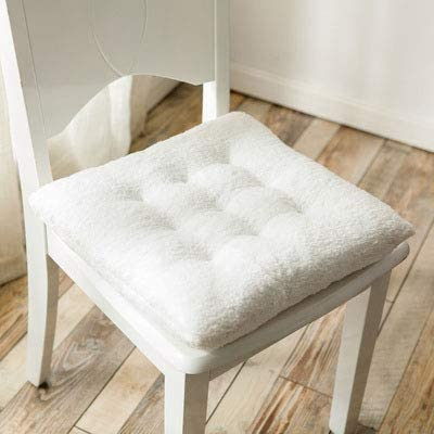 XYSQWZ Shaggy Bombing free shipping Square Chair Pads Seat Same day shipping Multifunction Soft Thicken