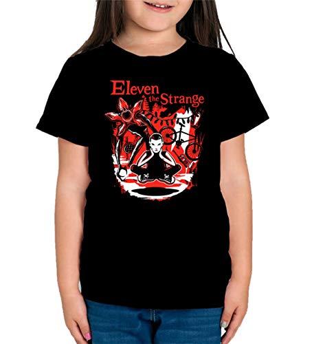 Camiseta de NIÑAS Stranger Things Once Series Retro 80 Eleven Will 002 11-12 Años