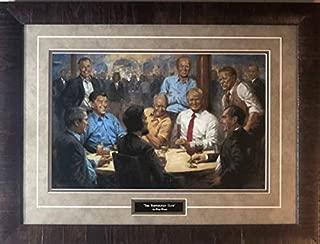 donald trump president painting