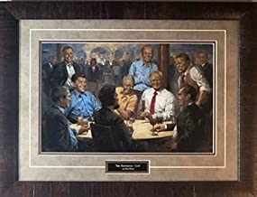 Andy Thomas The Republican Club Donald Trump Art Print-Framed