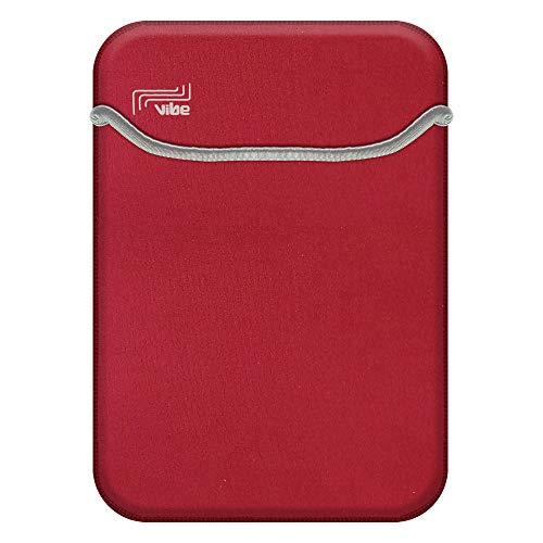 VIbe Neoprene Case for Tablets and Laptops, Neoprene case suitable for Tablets and Laptop with Many size and Colors (14 INCH, Red)