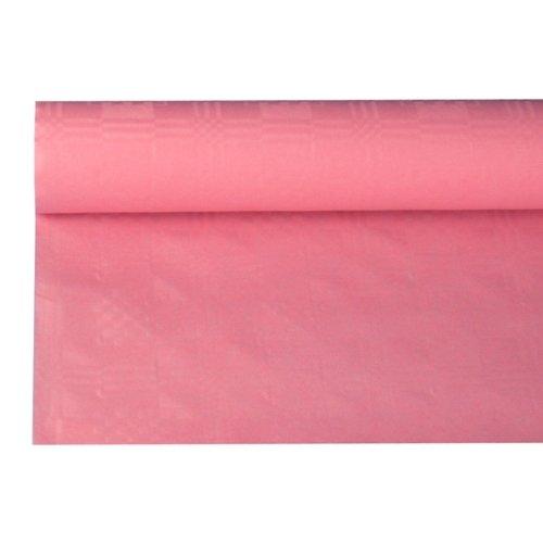 Papstar Papier-Tischdeckenrolle, rosa, 120 cm x 8 m