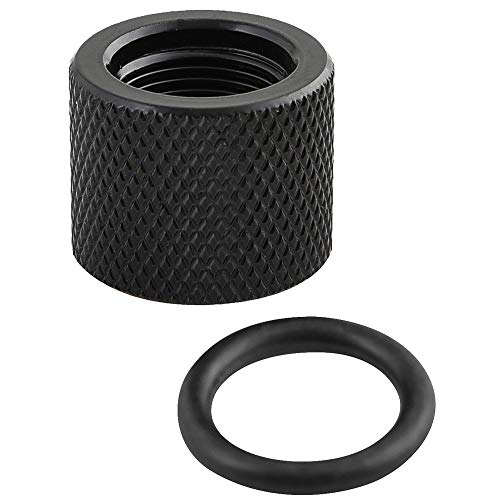 BLUCOLLAR TACTICAL Rifle Barrel Thread Protector and Support Washer. 1/2x28 Threaded Steel Fits Most .22lr 223 9mm Rifles Handguns Pistols. (1/2x28) USA Made