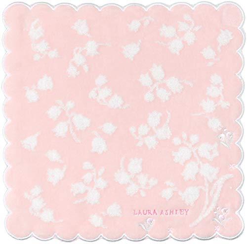 [ローラ アシュレイ] ハンカチ レディース タオルハンカチ 5705156A ピンク 日本 25cm×25cm (FREE サイズ)