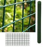 Rollo de Malla Metálica Electrosoldada Plastificada (13X13-0.5X5M)