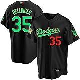 GYN Camiseta de Béisbol,Camisa Dodgers #27,Manga Corta de Moda para Hombre,Uniforme De Béisbol para Fanáticos Ropa de Equipo,M