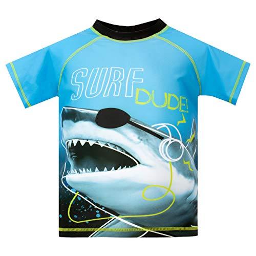 Harry Bear Boys Shark Swim Set Blue Age 6 to 7 Years