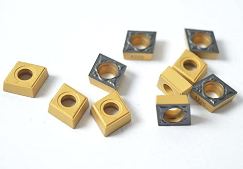 2021 10PCS CCMT 32.51-PM 4225 / 2021 CCMT popular 09T304-PM 4225 Milling Carbide Cutting Inserts For CNC Lathe Turing Tool Holder Boring Bar outlet sale