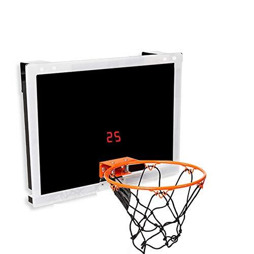 MHCYKJ Tablero Baloncesto Exterior Profesional De Mini Sistema Interior Aro Puerta Juego Montado En La Pared para Niños con Pelota Juguete Deportivo