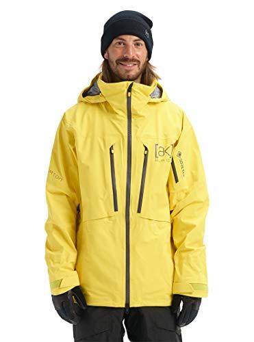 Burton Mens Ak Gore-Tex Hover Stretch Jacket, Maize, Small