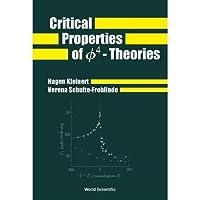Critical Properties of o4 Theories【洋書】 [並行輸入品]