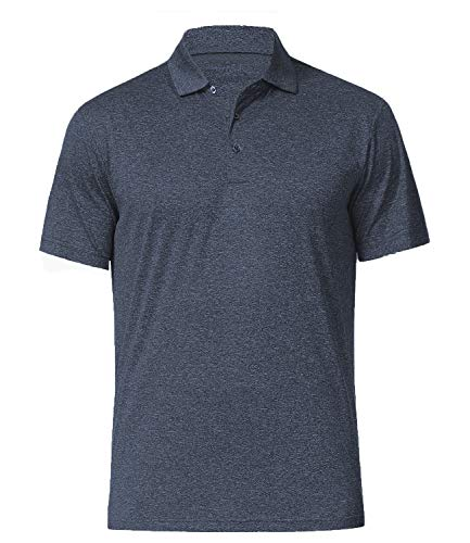 COSSNISS Men's Dry Fit Golf Polo...