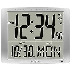 La Crosse Technology 515-1316 Super Large 16 Inch Atomic Digital Wall Clock