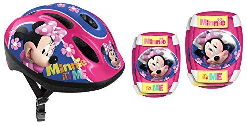 Stamp- Disney Casque COUDIERES GENOUILLERES, K862507, Pink, Minnie It's ME