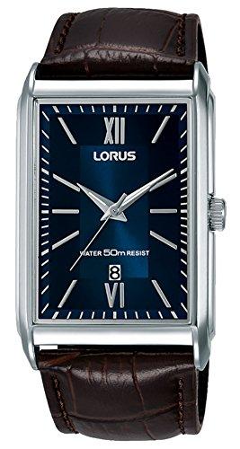 Lorus Classic Man Damen Uhr analog Quarzwerk mit Leder Armband RH911JX9