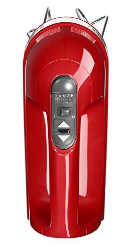 Kitchenaid-5KHM9212-5KHM9212EER-Handrhrer-Kunststoff-Rot-Edelstahl