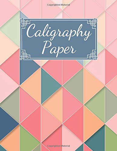 Caligraphy Paper: Practice Paper Book, Calligraphy Gift Writing Stationery