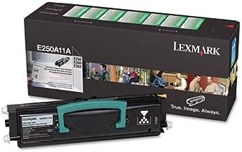 New-Lexmark E250A11A - E250A11A Toner, 3500 Page-Yield, Black - LEXE250A11A