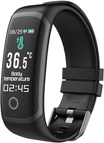 Reloj inteligente Fitness Tracker para hombres y mujeres, monitor de ritmo cardíaco, monitor de sueño