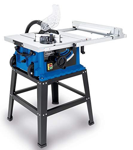Scheppach Tischkreissäge 255-er Set, 230 V, 2000 W mit Tischverbreiterung und Untergestell, HS105 - 2