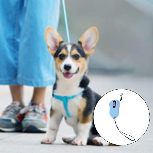 Sue-Supply Mini Correa de Perro para Mascota, retráctil, automático, TPE, PP, protección del Medio Ambiente, Suministros para Mascotas, Cuerda de tracción para Gatos, 2 m