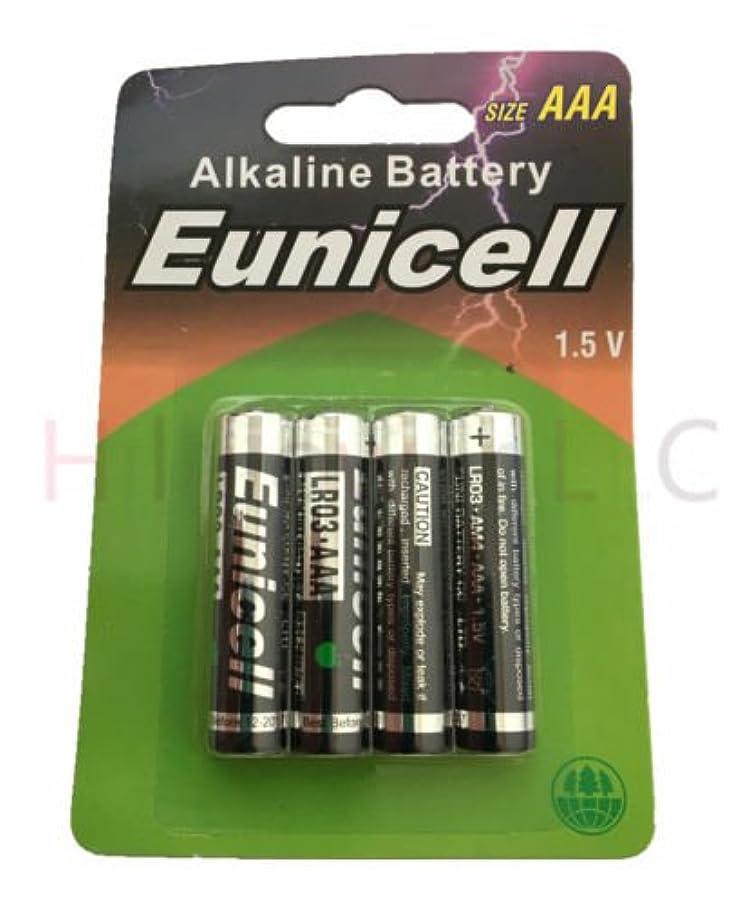 Hillflower 40 Piece AAA LR3 LR03 AM4 MN2400 Card 0% Hg 1.5V Ultra Power Alkaline New Battery