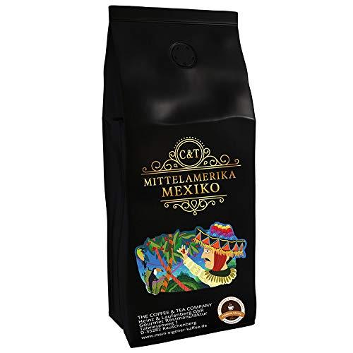 Kaffeespezialität Aus Mittelamerika - Mexico, Dem Reich Der Azteken (1000 Gramm,Ganze Bohne) - Länderkaffee - Spitzenkaffee - Säurearm - Schonend Und Frisch Geröstet