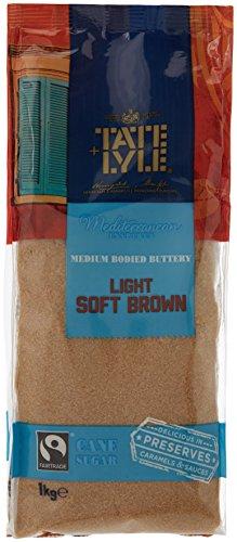 TATE & LYLE Fairtrade Rohrzucker Light Soft Brown lose 1 kg