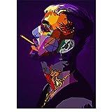 NRRTBWDHL Lil peep hip hop Rapper Poster malerei wandkunst