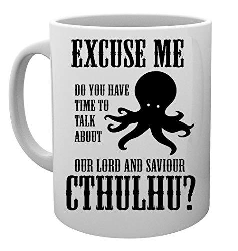 Our Lord And Saviour Cthulhu Taza Mug Cup