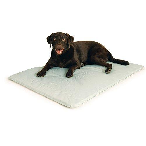 KH 771720 Pet, kühlendes Hunde- und Katzenbett - Grau - groß, L, Grey