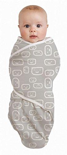 Bébé Studio 100% coton Swaddle Wrap visages, grande