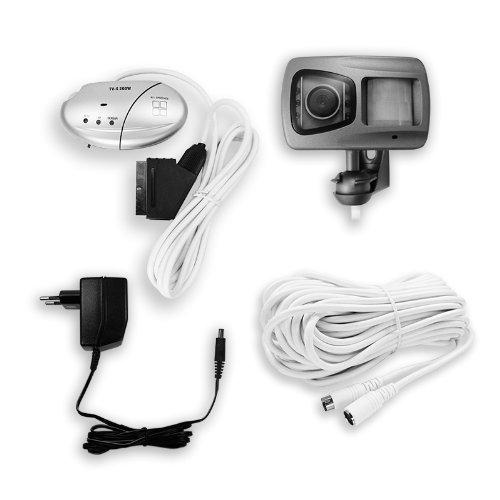 Pentatech - Interfono con cámara de seguridad y sensor de movimiento