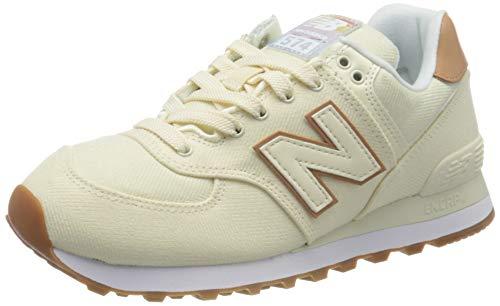 New Balance Damen 574v2 Sneaker, Elfenbein (Off Scb), 37 EU