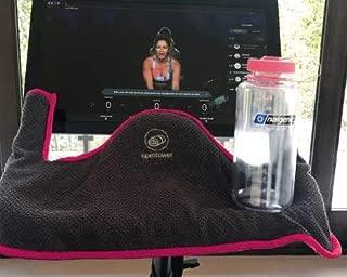 Spin Bike Towel and Bottle Set