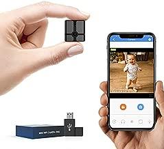 Spy Camera WiFi, Wireless Hidden Camera Nanny Cam with Phone App Smart Security Surveillance Cameras for Indoor Outdoor Covert Security Camera