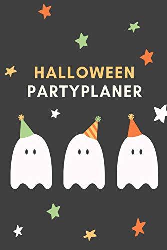 Halloween Partyplaner: Ein Notizbuch für die Planung deiner Halloweenparty