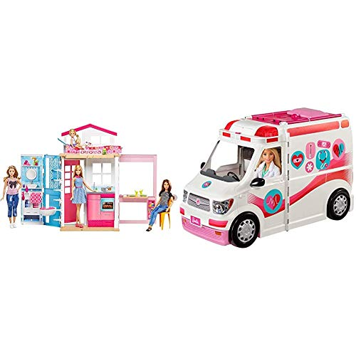 Barbie 2-Story House and Doll