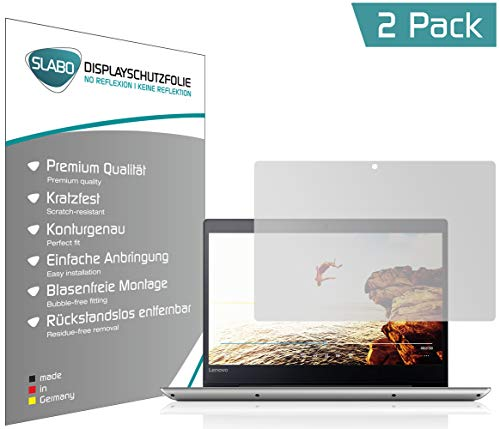Slabo 2 x Bildschirmschutzfolie für Lenovo IdeaPad 320S (35,6 cm 14,0