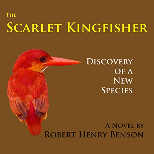The Scarlet Kingfisher audiobook cover art