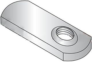 10-24 Multi-Projection Tab Weld Nuts//Steel//Plain//1,000 Pc Carton