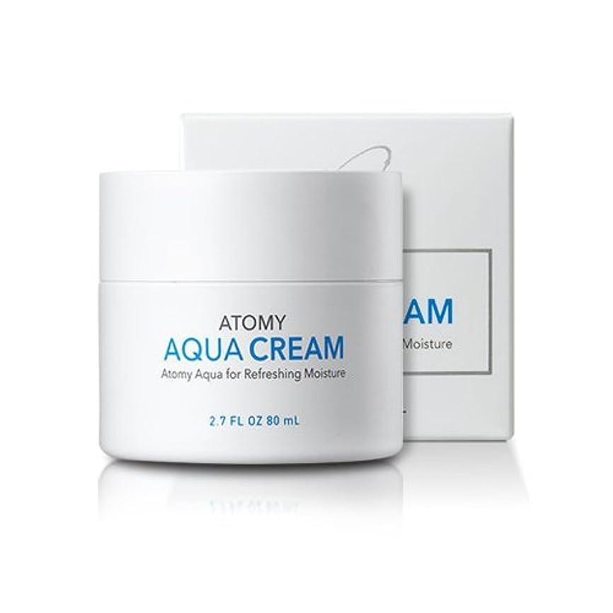 確認してください可愛い動物[atomy] アクア水分クリーム aqua cream 80ml [並行輸入品]