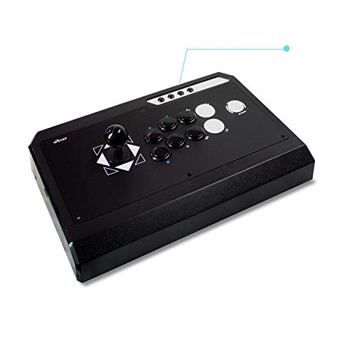 DTC - QanBa Q4 RAF S3 Joystick Pro Fightstick Giochi Arcade 2in1 Playstation3/PC NERO