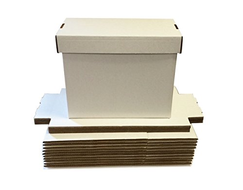 (10) SHORT Comic Storage Boxes - Each box Holds 150 - 175...