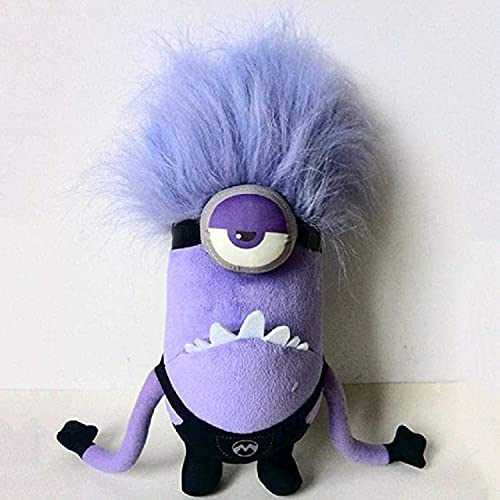 Product Image of the Purple Minions Plush Doll Despicable Me Same Oaragraph Fun Stuffed Toys...