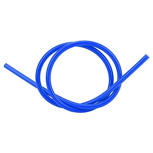 Akozon - Cable de encendido de 8 mm de silicona para coche, accesorio de repuesto, color azul