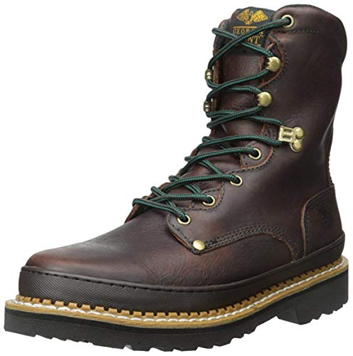 Georgia mens Giant Work Boot-m Georgia Farm and Ranch, Soggy Brown, 9.5 US