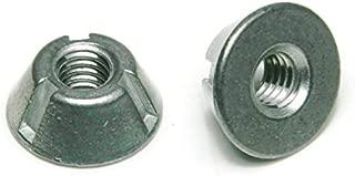 Tri-Groove Tamper Proof Security Nuts Zamak 5 Zinc 1/4